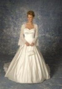 Victoria's Bridal #8023 Ivory/Gold Size 16 Bridal Gown Wedding Dress
