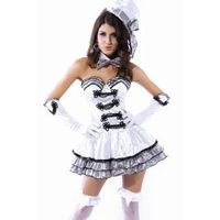Hot Sexy Absorbing Cigarette Girl Cosplay Costume