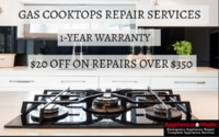 Appliance Medic gives a 1-year service warranty and discounts on appliance repairs over $350. We can repair the cooktops of all models from all leading appliance brands. You can schedule your repair appointment over a call on 845-617-1111 or 201-589-2399