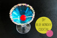 How To Make A Blue Monday Cocktail