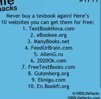 Free websites for text books