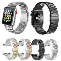 Stainless Steel Metal Replacement Band with Butterfly Buckle for Apple Watch Series 3 2 1 38mm 42mm $62.99