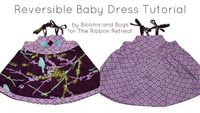 Reversible Baby Dress Tutorial - The Ribbon Retreat Blog