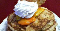 Peach Cobbler Pancakes   The Baby Granny Chronicles