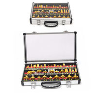 35pcs 1/4 Inch Router Bit Set Tungsten Carbide Woodworking Cutter Rotary Tool Accessories $149.00
