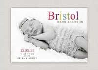 Baby Girl #Birth #Announcement