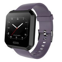 Bakeey SL3 Customizable Wallpapers Dynamic UI Heart Rate Blood Pressure Monitor Sport Modes Smart Watch