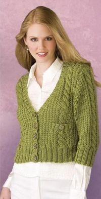 KNITTING PATTERN �€œOFFICE-TO-CASUAL CARDIGAN�€