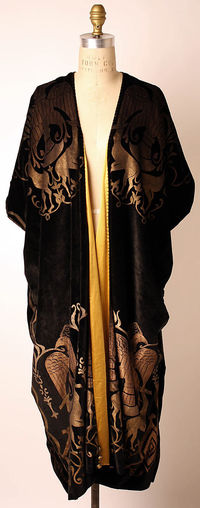 Evening coat attributed to Vitaldi Babani, 1920s, Met Collections