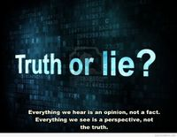 Lie or truth quote hd