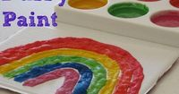 How to make Puffy Paint? There is something magical about Puffy Paint and it is a must try for any child or toddler to paint and play with. #Howtomakepuffypaint