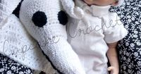 MADE TO ORDER Size 0 to 3 Months Jack Hat with Zero Ghost Dog Blanket Nightmare Before Christmas. $60.00, via Etsy.