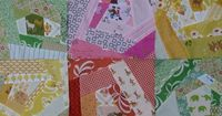Crazy scrappy block tutorial by Aneela Hoey, from her blog ''Comfortstitching'' ...She says making these 11 inch crazy quilt blocks can be addictive, lol, so beware! Ha!