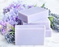 2 Bars Lavender Purple (Vegan, All Natural) Plus Cedar Soap Saver With Gift Bag FREE SHIPPING $9.95