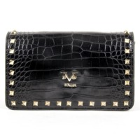 V 1969 Italia Womens Handbag V19690010K BLACK $289.00