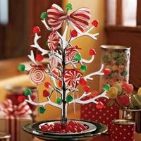 We had the clear plastic one growing up but I have always wanted a fancy gumdrop tree.