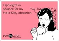 I apologize in advance for my Hello Kitty obsession.