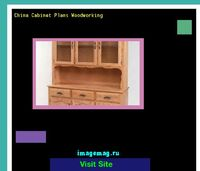 china cabinet plans woodworking