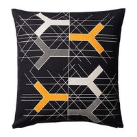 BJ�–RNLOKA FIGUR Cushion cover IKEA The zipper makes the cover easy to remove.