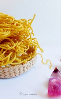 Lahsoon Mirchi Sev / Garlic Sev