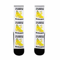 This Workout Is Gonna Be Bananas US Size 7-13 Socks $17.99 �œ� Handcrafted in USA! �œ� Support American Artisans