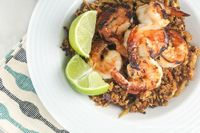 Honey Lime Shrimp for just 159 calories and 4 Weight Watchers PointsPlus