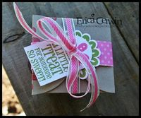 Pink Buckaroo Designs: Petal Cone Take Out Box- Stamp Club Project #3