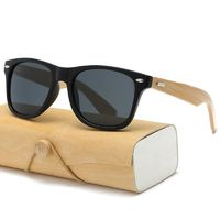 Retro Wood Sunglasses $11.87