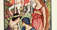 The Violet Fairy Book -- H. J. Ford -- Fairytale Illustration
