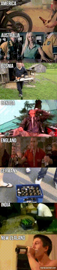 Different ways of opening a beer worldwide humor #funny #humor #gif #funnygif #lol #PMSLweb