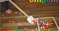 Physical Therapy Idea of the Week: Pom Pom Hockey - Pinned by