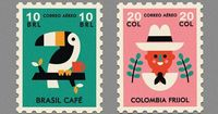 Coffee stamps.