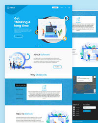 """https://html.design/download/free-software-html-template/ Potoub �€"""" Free Software HTML Template a responsive professional multipurpose Software template with SaaS model ideal for Startup and WebApp landing template for any kind of landing pag..."""