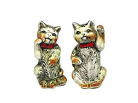 Vintage Cat Salt and Pepper Shakers | Character Salt and Pepper Shakers | Made in Japan Teen $39.99