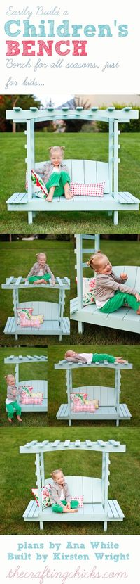 This was such a fun project. It's always fun building projects from Ana White's website, plans for the bench found HERE on Ana's site. Until I found her, buildi