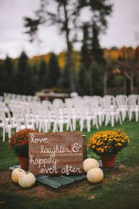 Rich beautiful fall colors, elegant wedding details and a stunning couple are just a few of the details that you are going to fall in love with from this weddin
