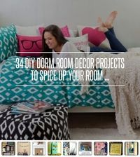 12. DIY Cookie Sheet Display - 34 DIY Dorm Room Decor Projects to Spice up Your Room ... �†' DIY