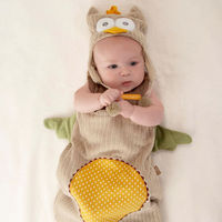 """My Little Night Owl"" Snuggle Sack and Cap"