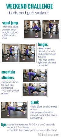 challenge workout, workout challenge and challenges.