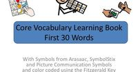 Core vocabulary learning book