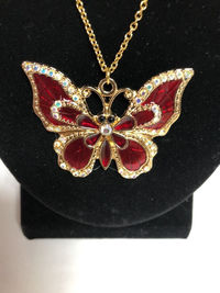Butterfly Pendant Necklace $21.00