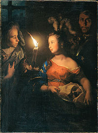 Godfried Schalcken Salome with the Head of John the Baptist