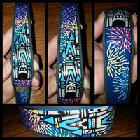 Disney Finds - Hand painted Disney Magic Bands