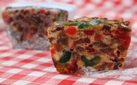 In 1930 this fruit cake cost one dollar to make. (How times have changed!!) This is a recipe passed down through the years. I have heard many people say the hat
