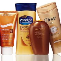 Self-tan in a flash- these give you that Tahiti glow in no time