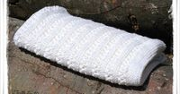 Knitting Pattern Baby Blanket BLANCA by Jollyknits on Etsy