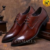 CWMALLS® Mens Italian Leather Shoes CW716009