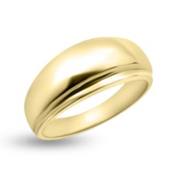 RR-192: Men's Domed Raised Wedding Band (no stone) is a modern take on a traditional wedding band! RR-269 is a sturdy ring is available in 10k and 14k yellow, rose, and white gold. MADE IN CANADA
