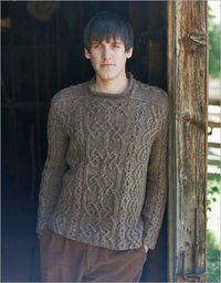 An Aran for Frederick by Kathleen Dames #knittingdaily