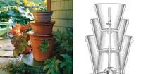 DIY terracotta water fountain - SO need to add a water feature to my patio/garden this year!!